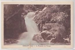 CPA De CHALEY, Le Ruisseau Au Gorges - France