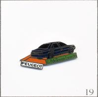 Pin's Sport - Tennis / Grand Prix De Lyon 1990 - Sponsor Peugeot. Estampillé Stadium. EGF. T697-19 - Tenis