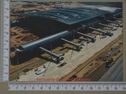 ANGOLA - FUTURO AEROPORTO  -  LUANDA -   2 SCANS     - (Nº33289) - Angola