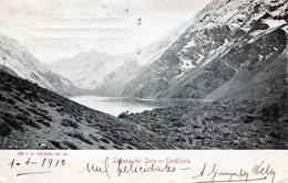 CHILE. LAGUNA DE INCA - COORDILLERA. TARJETA POSTAL. - NTVG. - Chile