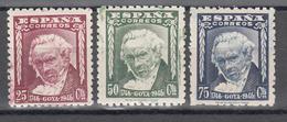 1946  Edifil Nº 1005 / 1007  MNH, II Centenario Del Nacimiento De Goya - 1931-Tegenwoordig: 2de Rep. - ...Juan Carlos I