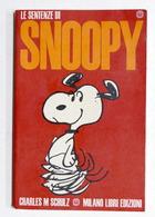 Fumetti - Charles M. Schulz - Le Sentenze Di Snoopy - Ed. 1970 Milano Libri - Zonder Classificatie