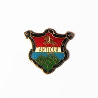 Pin's Blason Antigua - 48R - Steden