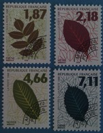 France 1996 : Feuilles D'arbres N° 236 à 239 Oblitéré - 1989-....