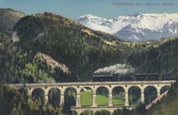 AK - NÖ - Alte Semmeringbahn über Dem Viadukt Kalte Rinne - 1911 - Semmering