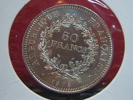 50 FRANCS ARGENT 1975 SPL+ TRES RARE!!!!!!!!!!!! - France