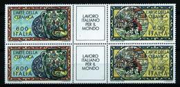 Italia Nº 1642/3 (unidos En Bloque) Nuevo - 1981-90: Mint/hinged
