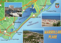 B63700 Cpm Marseillan Plage - Unclassified