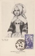 Carte Maximum - Femme De St-Thégonec 1946 - France