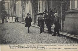 Kontich Contich 21 Mai 1908 Schrikkelijk Spoorweg Ongeluk Visite De Mr 1e Ministre Helleputte Aux Blessés - Kontich