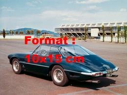 Reproduction D'une Photographie Ancienne D'une Ferrari 400 Superamerica Superfastde 1962 - Repro's