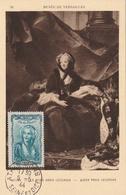 Carte Maximum -La Reine Marie Leczinska Ob Athis-Mons 1944 - France