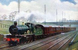 "TRENES. UP ""CORNISH RIVIERA"" EXPRESS. CIRCA 1900. TARJETA POSTAL. - NTVG. - Trenes"