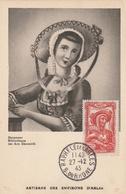 Carte Maximum -  Artisane Des Environs D'Arles 1943 - France