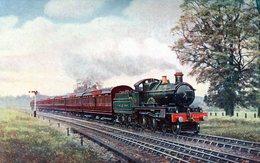 TRENES. UP WEYMOUTH EXPRESS. CIRCA 1900. TARJETA POSTAL. - NTVG. - Trenes