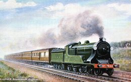 TRENES. L. & S. RAILWAY. BOURNEMOUTH EXPRESS. CIRCA 1900. TARJETA POSTAL. - NTVG. - Trenes