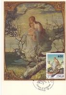 L'ALBERO DELLA VITA G. SEGRANTINI  1991 MAXIMUM POST CARD (GENN200292) - Madonne