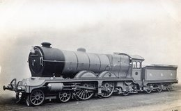 TRENES. F. MCORE'S RAILWAY. CIRCA 1900. TARJETA POSTAL. - NTVG. - Trenes