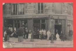 75 - Paris 19 - Carte Photo Café Au 97 Rue De Crimée - District 19