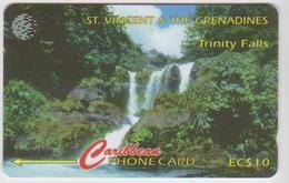 #07 - CARIBBEAN-020 - ST. VINCENT & THE GRENADINES - TRINITY FALLS - San Vicente Y Las Granadinas