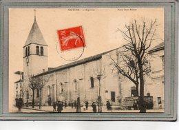 CPA - COURS (69) - Aspect De L'Eglise En 1907 - Cours-la-Ville