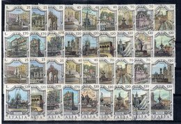 Italia  - Repubblica - Anni Vari - Lotto 36 Francobolli Serie Fontane - Usati - Vedi Foto - (FDC19260) - Lotti E Collezioni