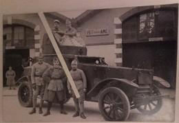 1920 1930 Automitrailleuse White 15 Eme Escadron Amc Levant  WW21939 1940 2 Carte Photos 2 Photos - Guerra, Militari