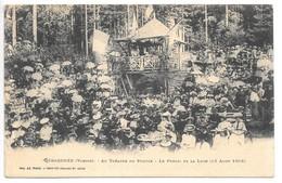 Cpa...Gérardmer...(Vosges)...au Théatre Du Peuple...le Public Et La Loge...(13 Aout 1905...animée... - Gerardmer