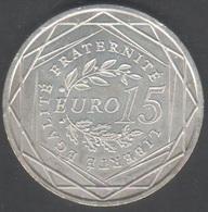 Pièce De 15 Euros Argent 2008 , Port Gratuit - France