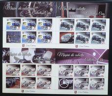 2017 Romania Mi# 7263 - 66 Retro Cars MNH ** - 1948-.... Repúblicas