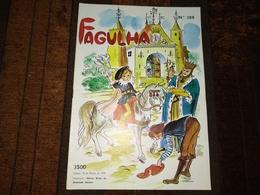 """Revista, Magazine Portuguese - """" FAGULHA """"  Nº 389 De 15-03-1974 - Libros, Revistas, Cómics"""