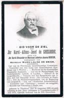 Dp. Geneesheer. De Gheldere Karel. ° Thorhout 1839 † Couckelaere 1913 - Religión & Esoterismo