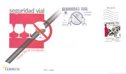 """Espagne FDC 2009 """" Sécurité Routière """" - Accidents & Road Safety"""
