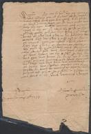 Précurseur - LAC Datée De Graulhet (1599) Vers Destination à Déterminer. Très Bon état ! - Marcophilie (Lettres)