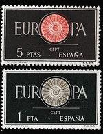Spanje 1960  - Michel  1189/1190**- POSTFRIS - NEUF SANS CHARNIERES - MNH - POSTFRISCH - Catw. 2€ - 1931-Aujourd'hui: II. République - ....Juan Carlos I