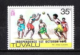 Tuvalu  - 1978. Folklore. Gioco Indigeno Te Ano. Indigenous Game Te Ano. MNH - Giochi
