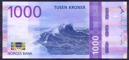 Norway 1000 Kroner 2019 UNC P- 57 - Norway