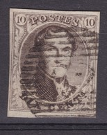 N° 6 Margé BDF Letttre En Filigrane - 1851-1857 Medaillen (6/8)