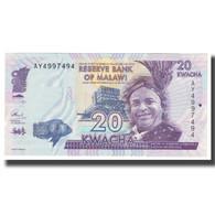 Billet, Malawi, 20 Kwacha, 2015, 2015-01-01, KM:57, NEUF - Malawi