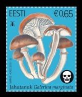 Estonia 2019 Mih. 963 Flora. Mushrooms. Funeral Bell MNH ** - Estonie