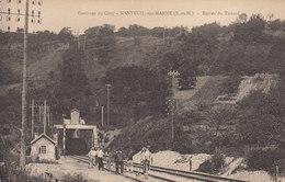 77 /  Nanteuil Sur Marne :  Travaux à L'entrée Du Tunnel     ////   JANV. 20 ///   BO. 77 - Francia