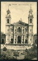 """CPA S/w AK Polen Warschau/Varsovie 1916 Allemagne Feldpost""""Warschau,Varsovie-Eglise De Tous Saints,belebt""""1 AK Used, - Eglises Et Cathédrales"""