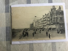 OOSTENDE 1913  OSTENDE LA DIGUE DE MER  ND PHOT N° 53 - Oostende