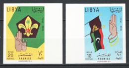 Libia 1964 Sass.151/52 ND **/MNH VF - Libya