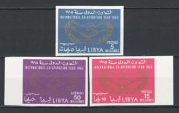 Libia 1965 Sass.166/67+A1 ND **/MNH VF - Libya