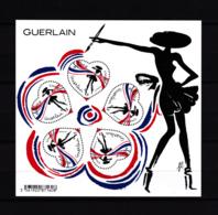 F 2020/ N**/  Bloc Coeurs Guerlain, 5 X 0.97 €, La Petite Robe Noire, Florence Deygas, Olivier Kuntzel - Neufs