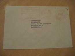 CARTAGENA Murcia 1976 Refineria De ESCOMBRERAS Petroleo Petroleum Oil Meter Mail Cancel Cover SPAIN Geology Geologie - Geology