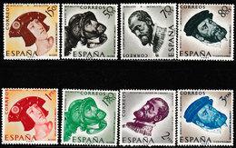Spanje 1958 , Michel 1121/1128* - Scharnier - Charnière - Hanged - 1931-Aujourd'hui: II. République - ....Juan Carlos I