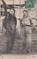 CLERMONT FERRAND 63  ( AVIATEURS RENAUX ET SENOUQUE ) AVIATEUR  PIONNIERS  AVIATION GAGNANTS DU GRAND PRIX MICHELIN 1911 - Clermont Ferrand