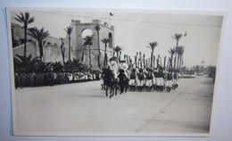 FM 292 FOTO TRIPOLI REPARTO DI ASCARI LIBICI CON TACHIA - Guerra, Militari